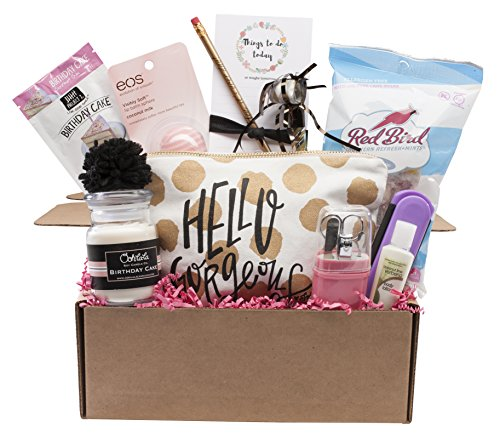Complete Birthday Gift Basket Box for Her-Women, Mom, Aunt, Sister or Friend, Unique! (Best Gift Baskets To Send)