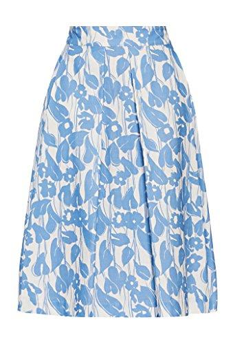 Pennyblack Gargano, Falda para Mujer Multicolor (fantasia azzurro)
