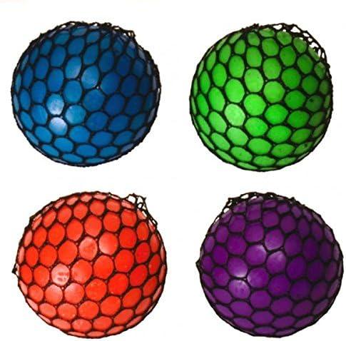 trendaffe ® Red estrés Ball – Squeeze antiestrés Ball – Pelota ...