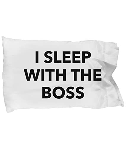 Boss Pillowcase Unique Funny Quote Pillow Case Which Make Great Birthday Gift Ideas For Men