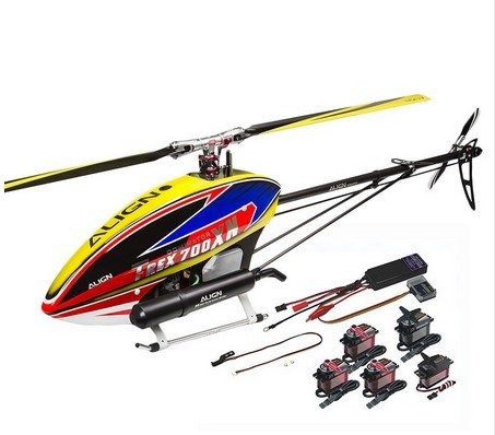 ALIGN T-REX 700XN Helicopter Dominator Super Combo RC Toy Models Helicopter (T-rex Model Helicopter)