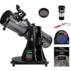 "The popular tabletop StarBlast 6i Intelliscope Reflector Telescope is now available with additional accessories to enhance your viewing experience! This portable 6"" f/5.0 reflector telescope comes with Orion's exclusive IntelliScope computeri..."