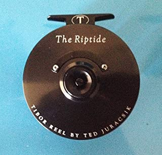 product image for Tibor Riptide Fly Reel, Black with Free $60 Gift Card