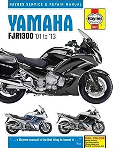 Yamaha Fjr1300 01 13 Haynes Powersport Haynes Publishing Fremdsprachige Bücher