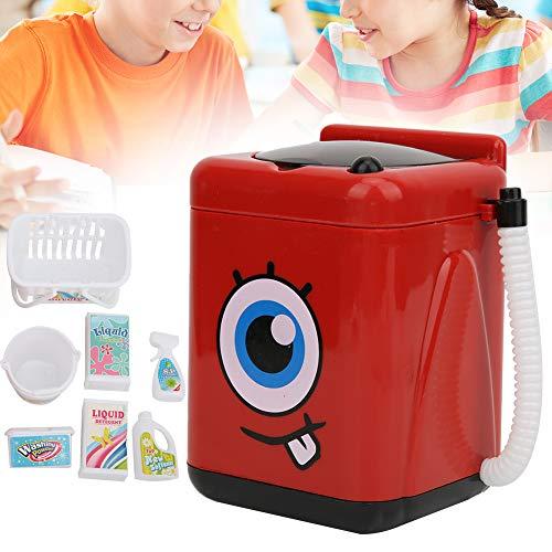 Simulation Washing Machine, Durable Multifunctional Small Intelligence Toy Simulation Small Household Appliances, for Children Kids(Washing Machine) India 2021