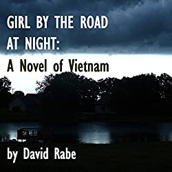 Girl by the Road at Night