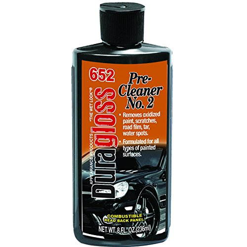 Duragloss 652 Pre-Cleaner - 8 oz. Pack of 1