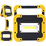 Capable Portable 2 Cob 30w 800lm Rechargeable Ip65 Led Flood Light Spot Lamp Outdoor Working Emergency Portable Spotlights Portable Spotlights Lights & Lighting