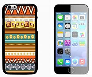 Hipstr Nebula Aztec Pattern Hard Plastic and Aluminum Back Case FOR Apple iPhone 6 6G 4.7