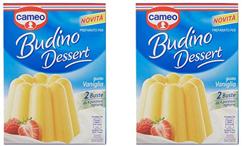 Cameo Pudding Desert Vanilla Flavor 200g (Pack of 2)