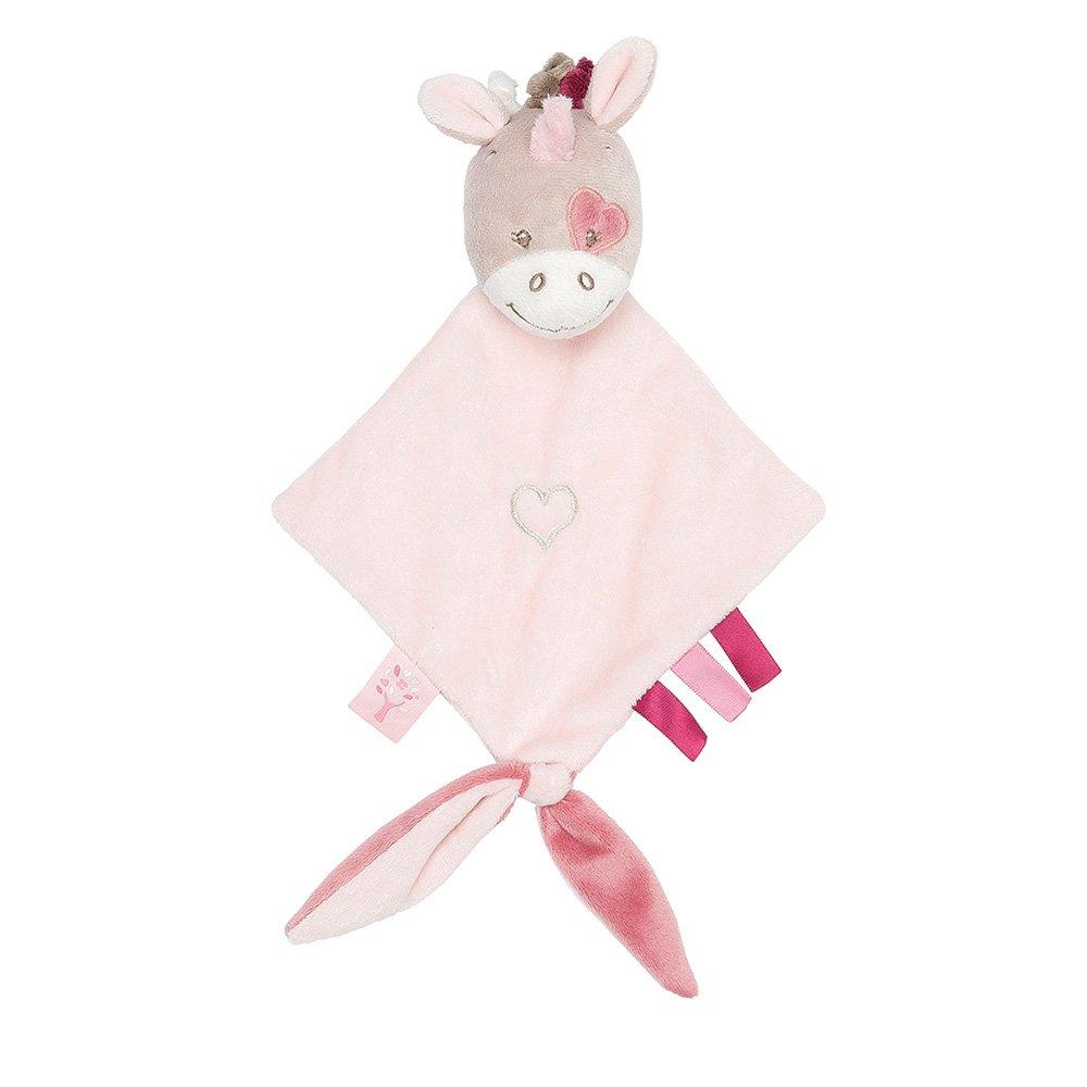 987158 Nattou Mini Doudou Jade lUnicorno
