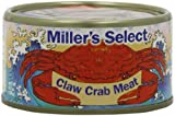 Miller s Select Claw Crab Meat, 6.5 Ounce (Pack of 12)