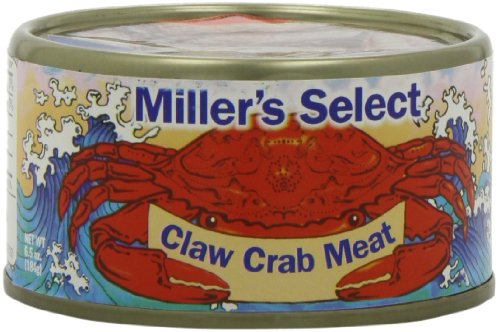 Miller's Select Claw Crab Meat, 6.5 Ounce (Pack of 12)