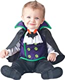 InCharacter Baby Boy's Count Cutie Vampire Costume, Black/Purple, Small