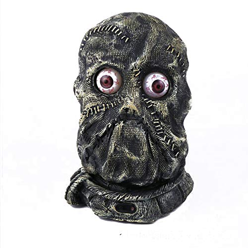 Isa Halloween Horror Decoration Eyes Glowing Voice Control