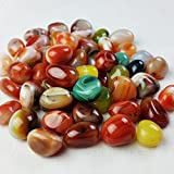 HEHGU River Stones Natural Gravel Polished Decoration Pebbles for Fresh Water Fish Animal Plant Aquariums Landscape