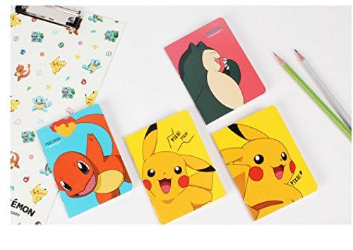 Fancy105 Pokemon Mini Lined Notebook Memo Book Journal]()