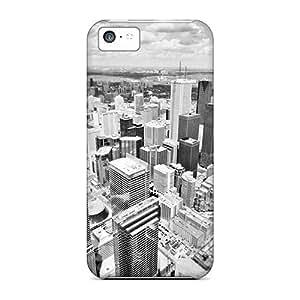 New City Tpu Case Cover, Anti-scratch Mialisabblake Phone Case For Iphone 5c