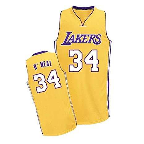 Aojing Shaquille ONeal 34 Los Angeles Lakers Mangas de ...