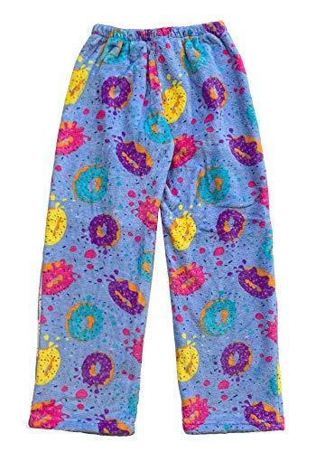 Confetti and Friends Fuzzy Plush Pants - Delish Donuts - 7/8