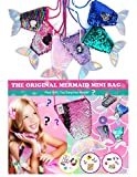 OML CALI Original Mermaid Sequins Plush Little Bag - Filled with Toy Surprise – Fun, Style, Toy...