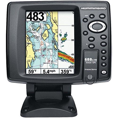 Humminbird 409450-1 688ci HD XD Fishfinder Sonar GPS Combo 5 Consumer Electronics