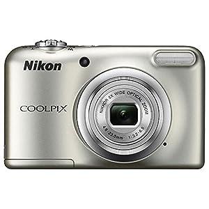 Nikon COOLPIX A10 16.1MP 5x Zoom NIKKOR Glass Lens Digital Camera (26518B) Silver - (Certified Refurbished) from Nikon
