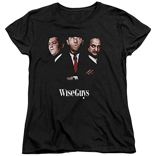 2Bhip Three Stooges Slapstick Famous Comedy Group Wiseguys Women's T-Shirt Tee