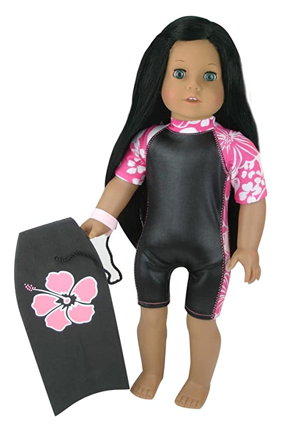 5457f1568b Amazon.com: Sophia's Doll Surf Board, Like a Boogie Board, Fits 18 Inch  American Girl Dolls, Doll Accessory for Surfing: Toys & Games