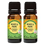 Edens Garden Aches & Pains Value Pack Synergy Blend 100% Pure Undiluted Therapeutic Grade GC/MS Certified Essential Oil