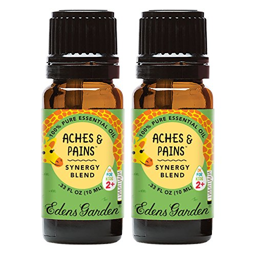 Edens Garden Aches & Pains Value Pack Synergy Blend 100% Pure Undiluted Therapeutic Grade GC/MS Certified Essential Oil by Edens Garden