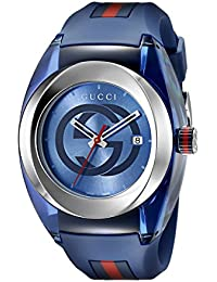 e0129c93fa4f Stainless Steel WYNC Watch(Model YA137104) · Gucci