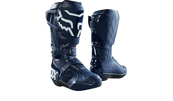Navy Fox Racing Comp R Idol Mens Off-Road Motorcycle Boots 8 22882-007-8