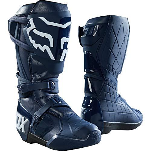 Fox Racing Comp R Idol Men's Off-Road Motorcycle Boots - Navy / 11