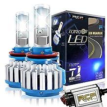 RCP - H8/H9/H11 - LED Headlight CREE Bulbs Conversion Kits + Canbus (1 Pair)-2 Year Warranty
