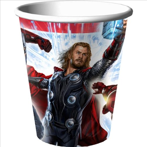 Avengers 9oz Paper Cups (8ct)