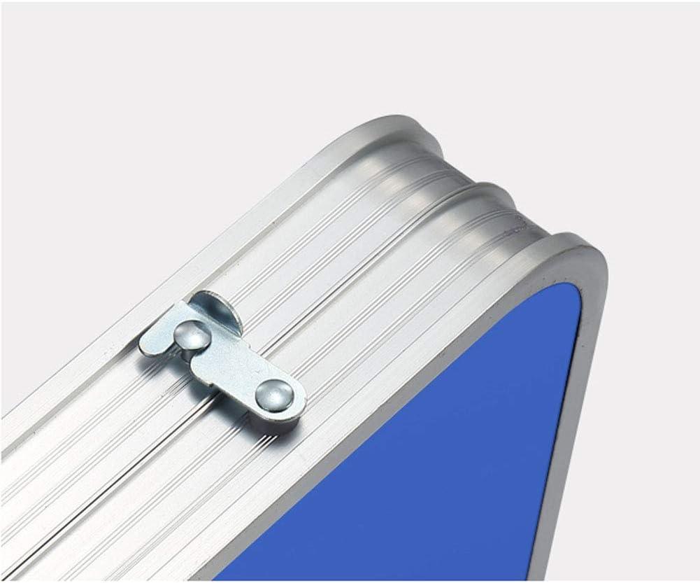 LLPEIJIE026 Tavolo Pieghevole Altezza Regolabile Lega di Alluminio Tavolo Pieghevole per Allaperto Picnic Barbecue Mostre Bancarella al Coperto Dine Apprendimento ECC Impermeabile E Antiruggine