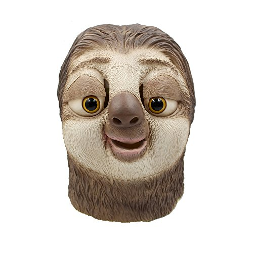 [CREATOR Halloween Costume Animal City Lazy Animal Head Mask] (Animal Costume Party City)