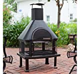 Outdoor Fireplace - Wood Burning Outdoor