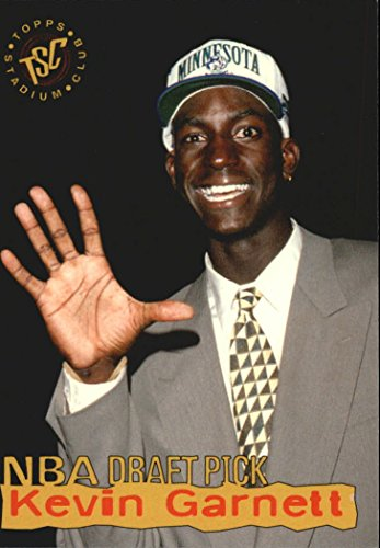 Garnett Draft Kevin - 1995-96 Stadium Club Draft Picks #5 Kevin Garnett - NM