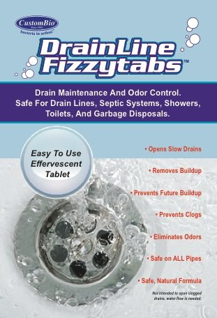 Natural DrainLine Fizzytabs Keep Drains product image