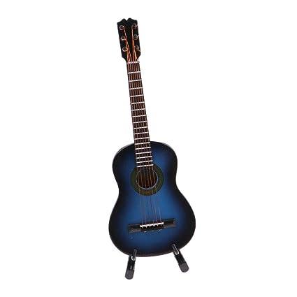 1//6 Musical Electric Guitar Model for Hot Toys Action Figures Desktop Decor