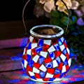 Solar Lantern Light Outdoor Decorative LED Waterproof Portable Hanging Lamp by CEDAR HOME
