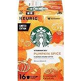 #5: Starbucks Pumpkin Spice Medium Roast Coffee - Keurig K-Cup Pods 16 pods(total 5.8oz), pack of 1