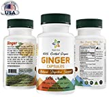 Certified Organic Ginger Capsules. Easy Swallow Veg Capsules. Natural Digestive Support. Enhances overall Health and Vitality. 100% All Natural, Raw and Original. For Sale