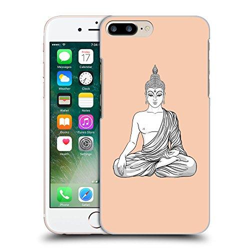 GoGoMobile Coque de Protection TPU Silicone Case pour // Q09980604 Bouddha assis 9 Abricot // Apple iPhone 7 PLUS