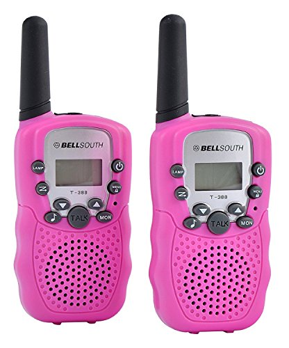BELLSOUTH T388 2 Piece T-388 3-5KM 22 FRS and GMRS UHF Radio for Child Walkie-Talkie by BellSouth (Image #1)