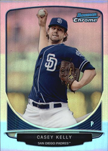 Casey Crop (2013 Bowman Chrome Cream of the Crop Mini Refractors #SDP5 Casey Kelly - NM-MT)