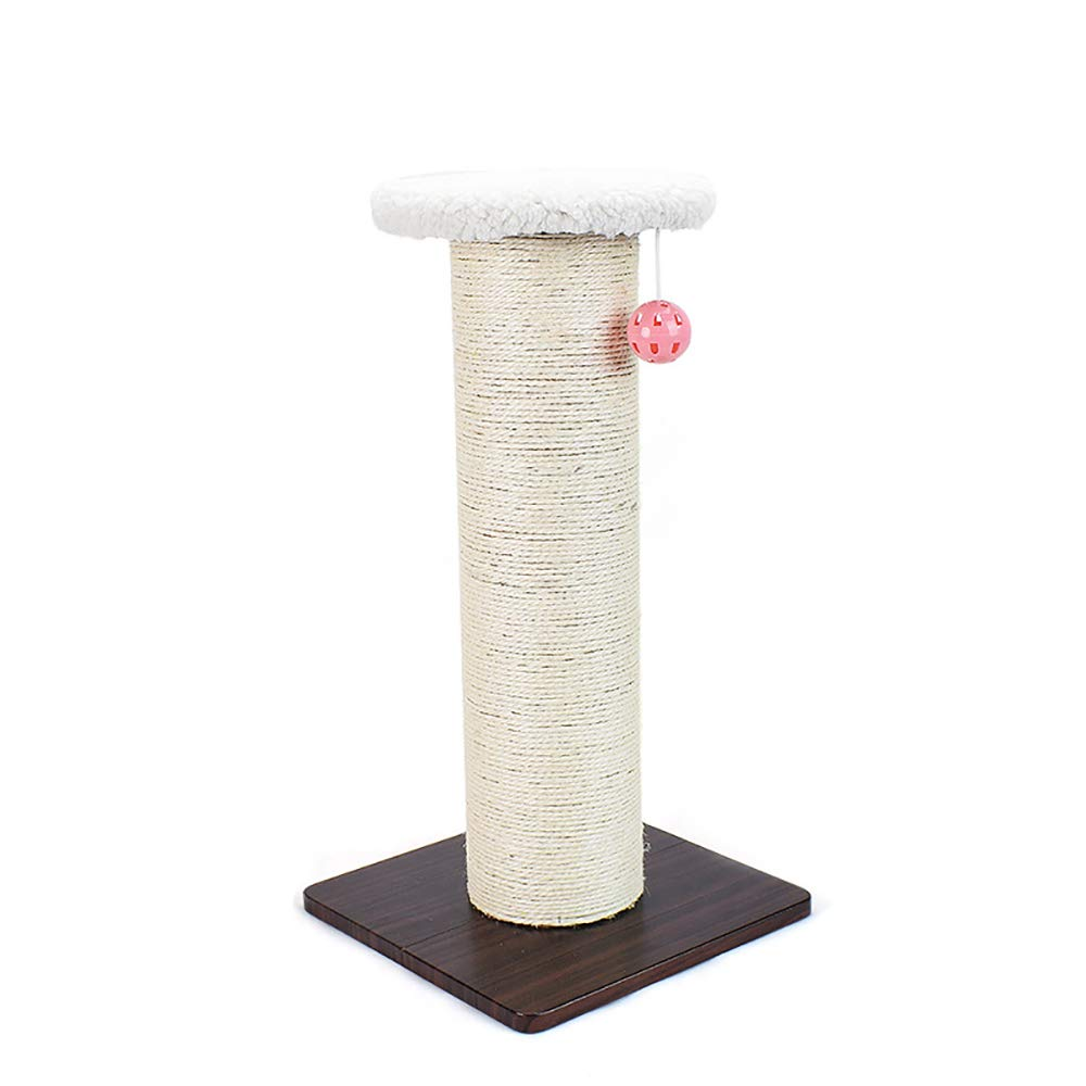 As Picture 5730.530.5cm As Picture 5730.530.5cm FELICIGG Cat Sharpening Device Small Scratch Board Three-dimensional Sisal Cat Scratch Column Cat Jumping Platform. (color, Size   57  30.5  30.5cm)