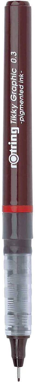 Rotring Tikky Graphic 0,4 mm 1904754 Pigmentstift schwarz